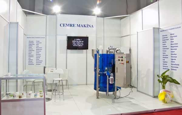 Cemre Machine Show Cup Filler