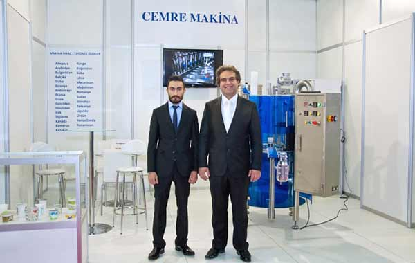 Cemre Machine Show Yogurt Filler