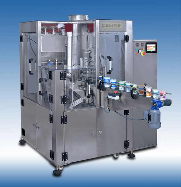Rotary Yogurt Filling Machine